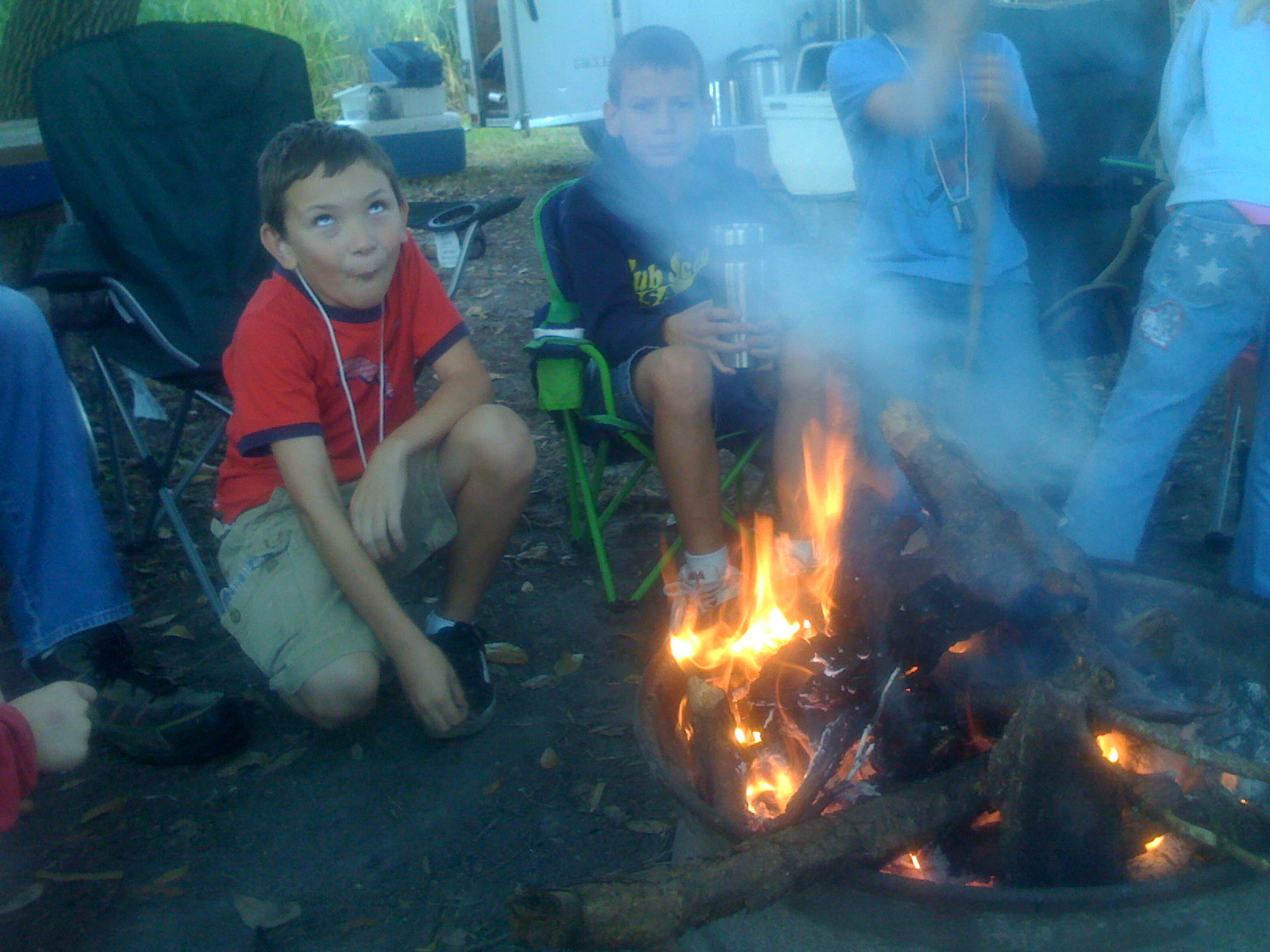 Taking My Kids Camping This Weekend for CubScouts!