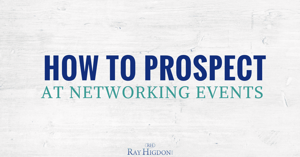 How To Use Networking Events For Your Homebased Business
