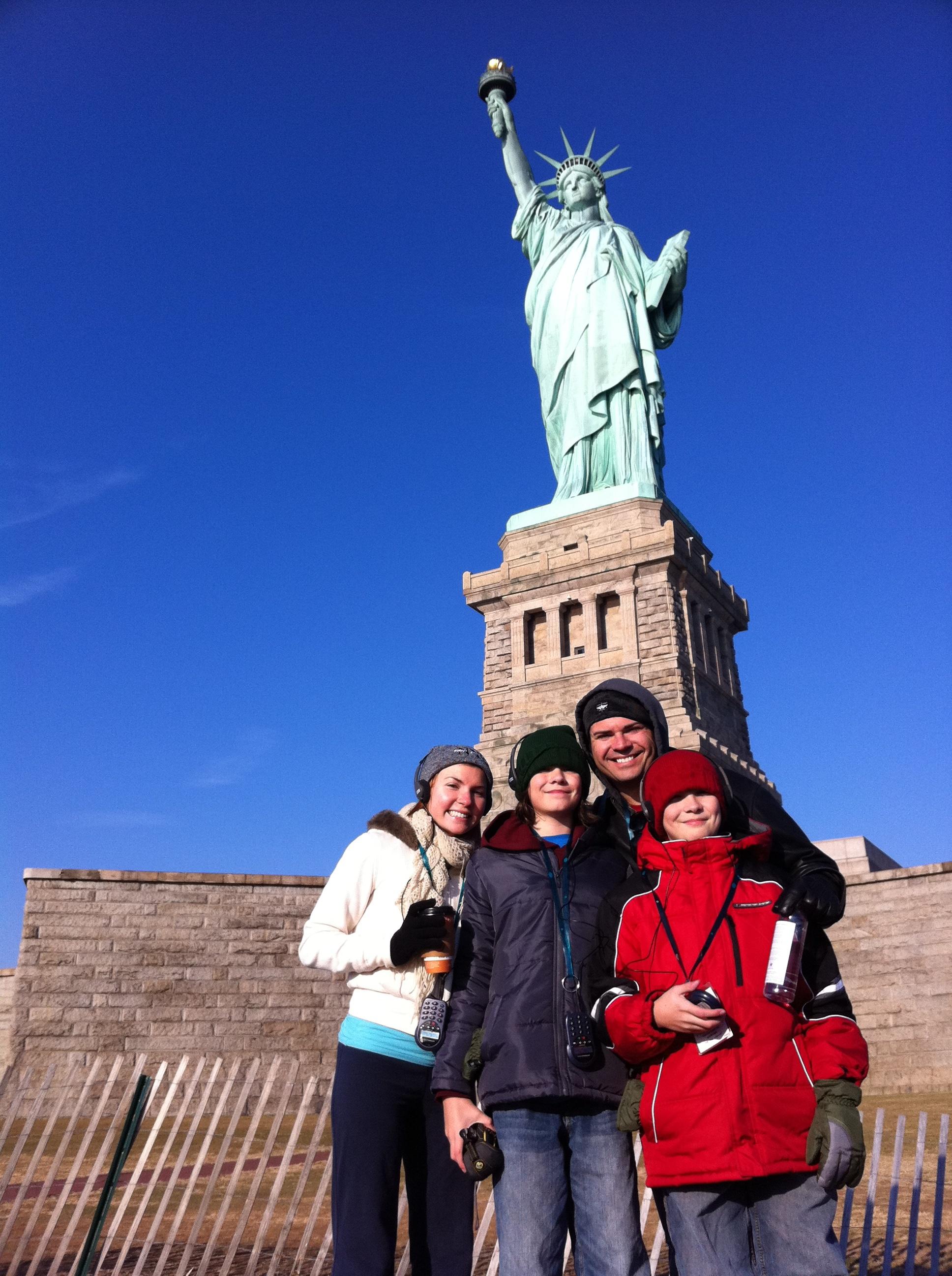 My trip to new york