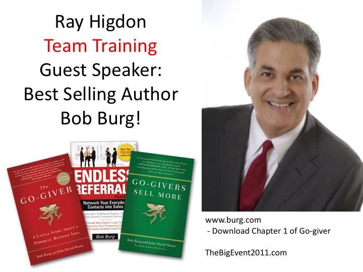 Bob burg author