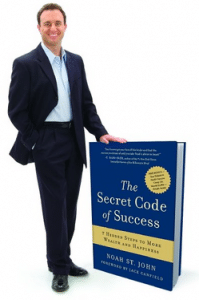 NOAH ST. JOHN author of the bestselling book The Secret Code of Success.