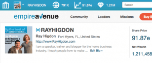 Ray Higdon on Empire Network