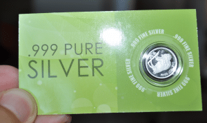 free silver samples numis
