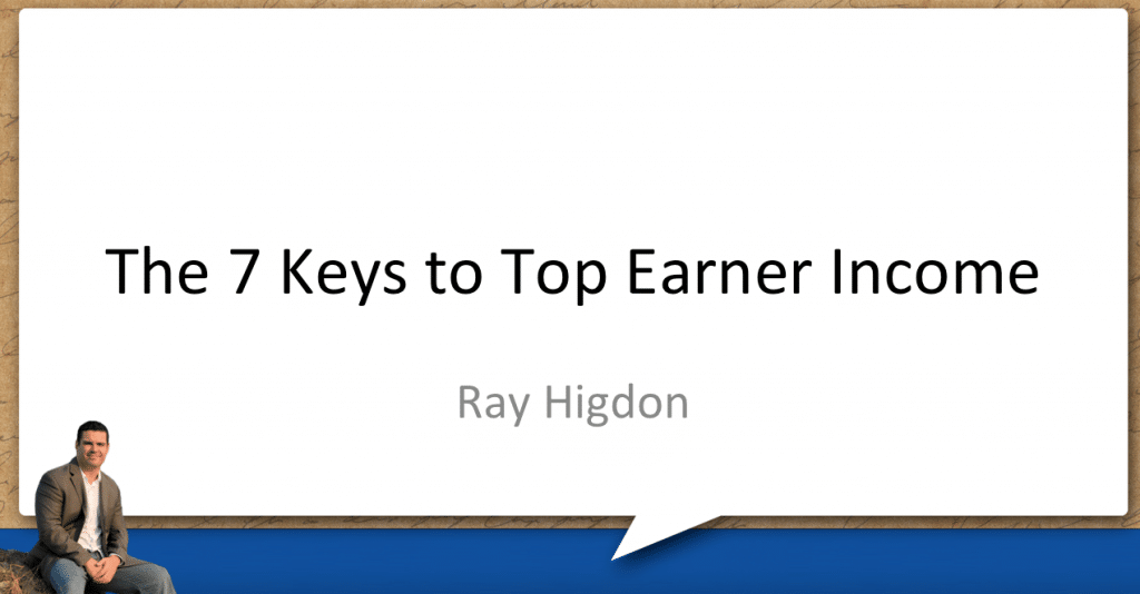 7 Keys to Top Earner Income – A My Lead System Pro Recording