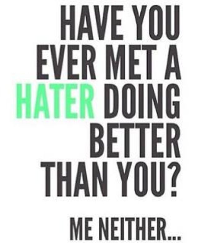 Quotes About Haters haters quotes