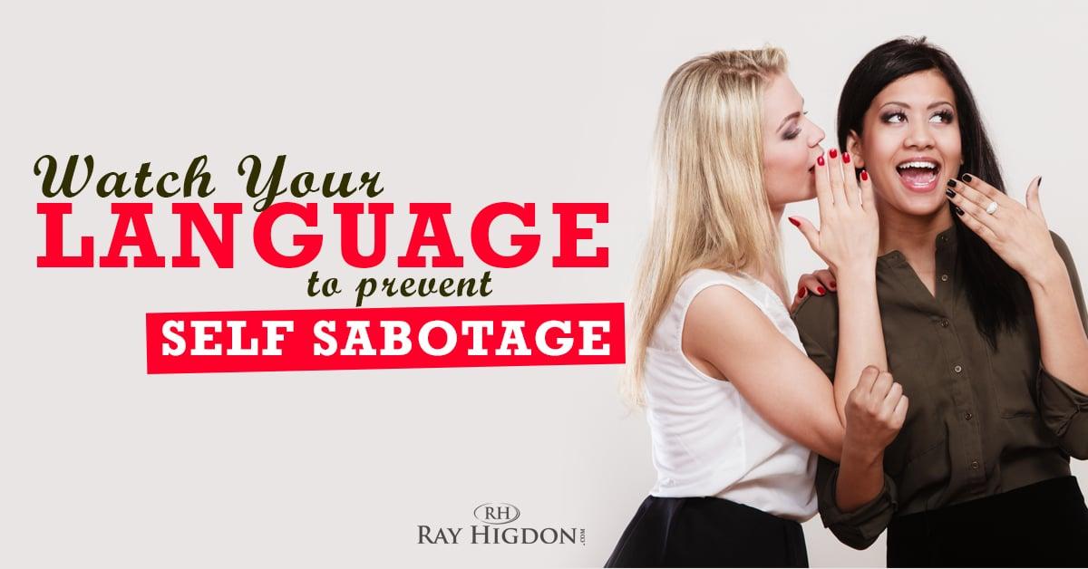 self sabotaging dating