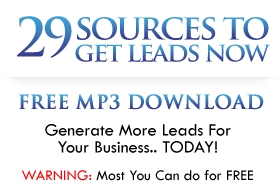 29 Sources To Get Leads