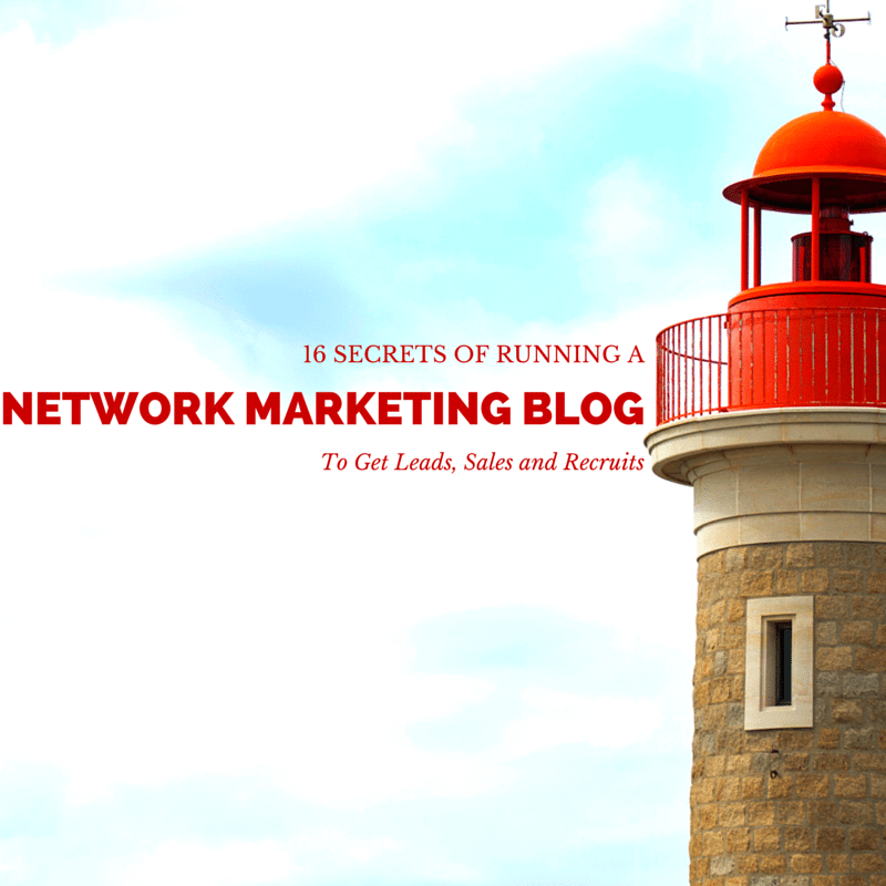 network marketing blog