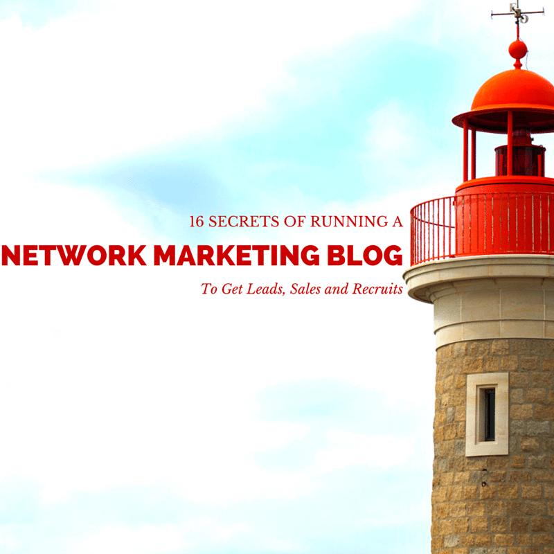 network marketing blog