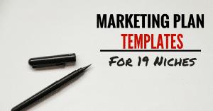 Free Marketing Plan Templates