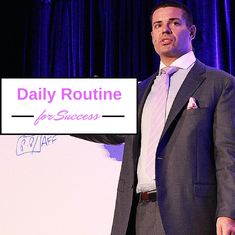 Daily Routine network marketing tips