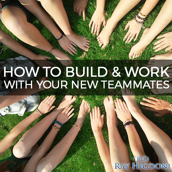 MLM Tips: Building & Working with your Teammates