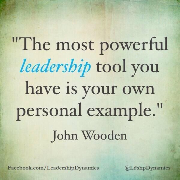 john wooden leadership quotes
