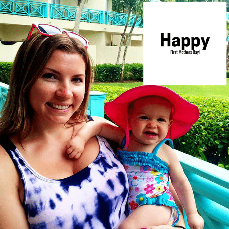 Happy First Mother's Day Jess!