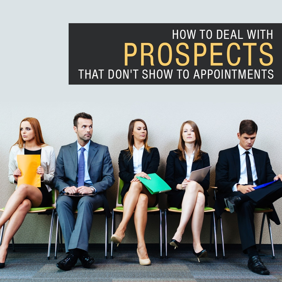 Dealing with Network Marketing Prospects that Don't Show