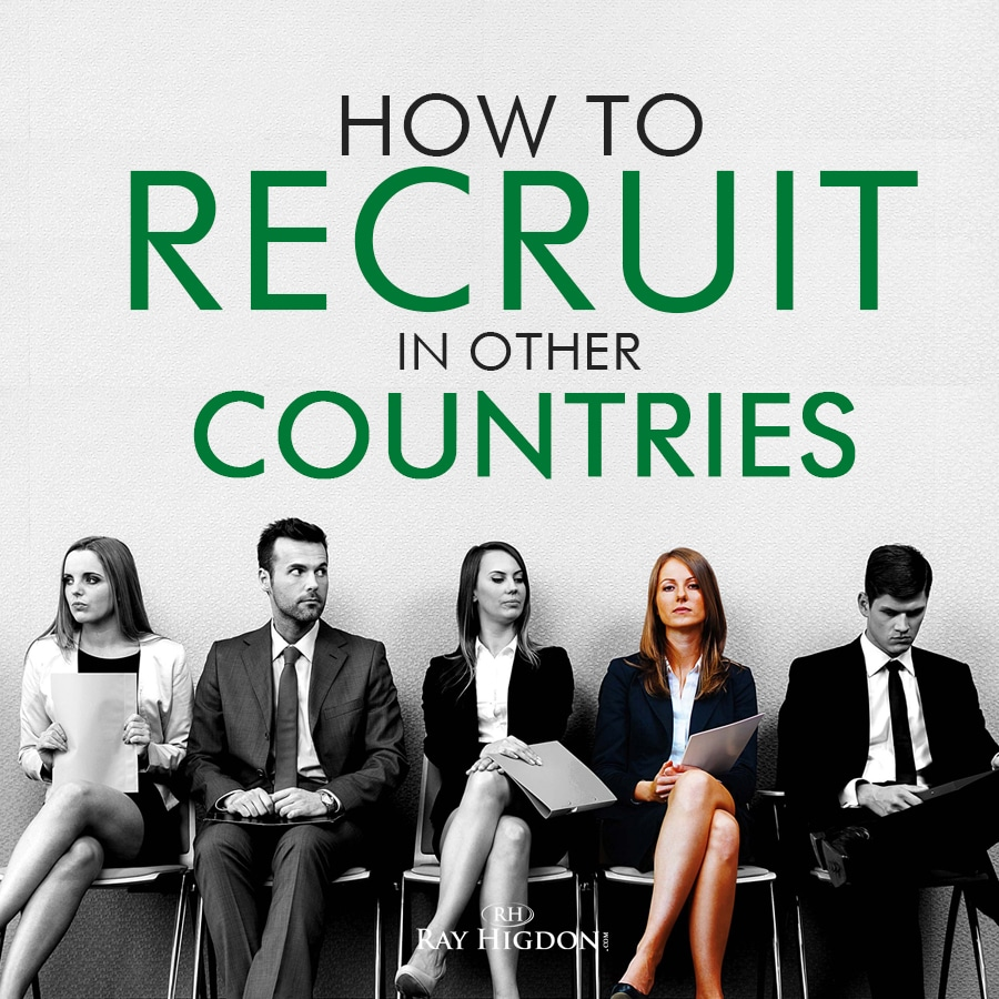Network Marketing Recruiting in Other Countries