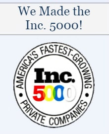 We Made the Inc. 5000!