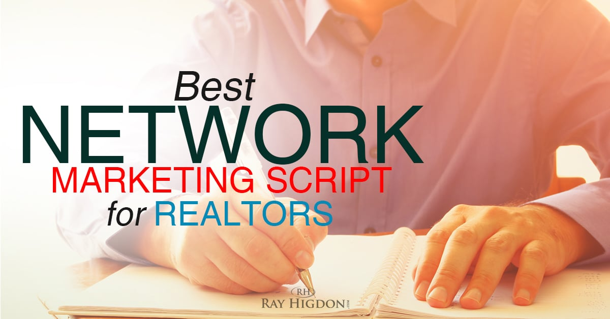 network marketing script