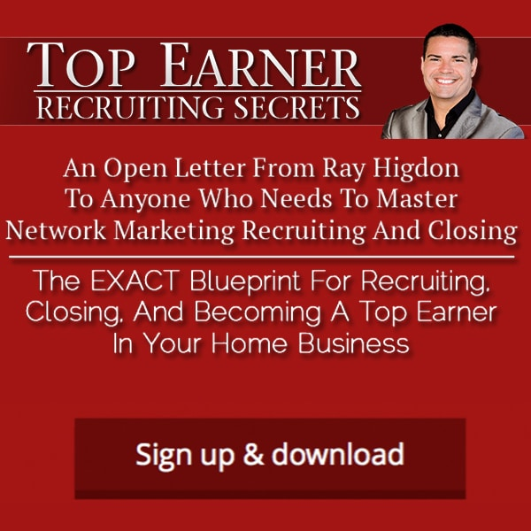 Get Top Earner Recruiting Secrets Here
