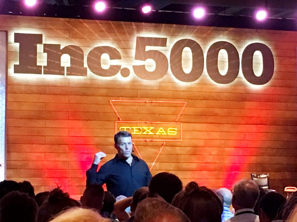 Tony Robbins and more Notes from the INC 5000 event