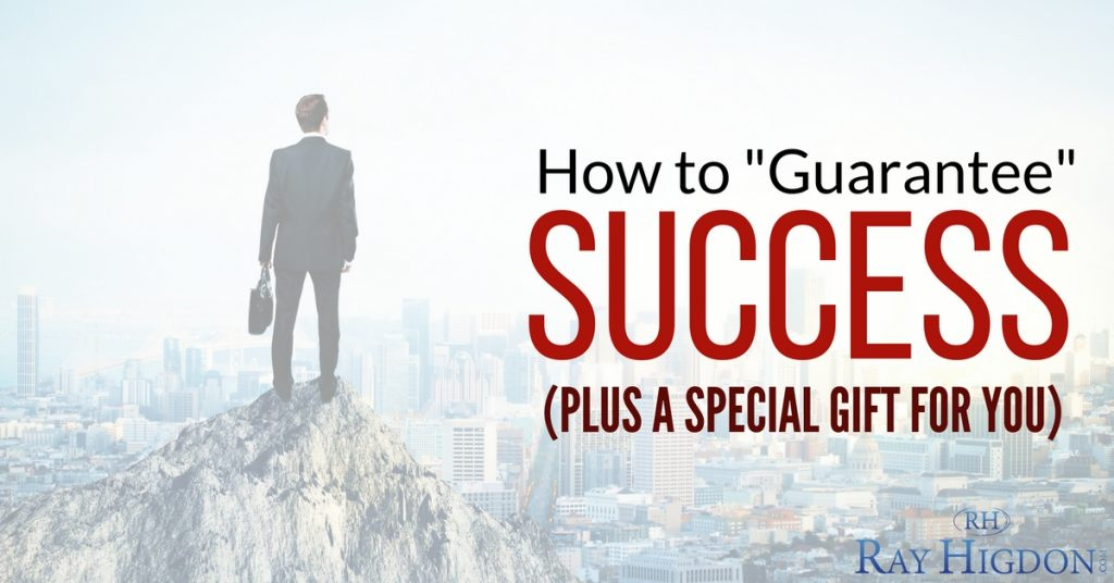 How to Guarantee Success And Breakthrough (Plus A Special Gift For You)