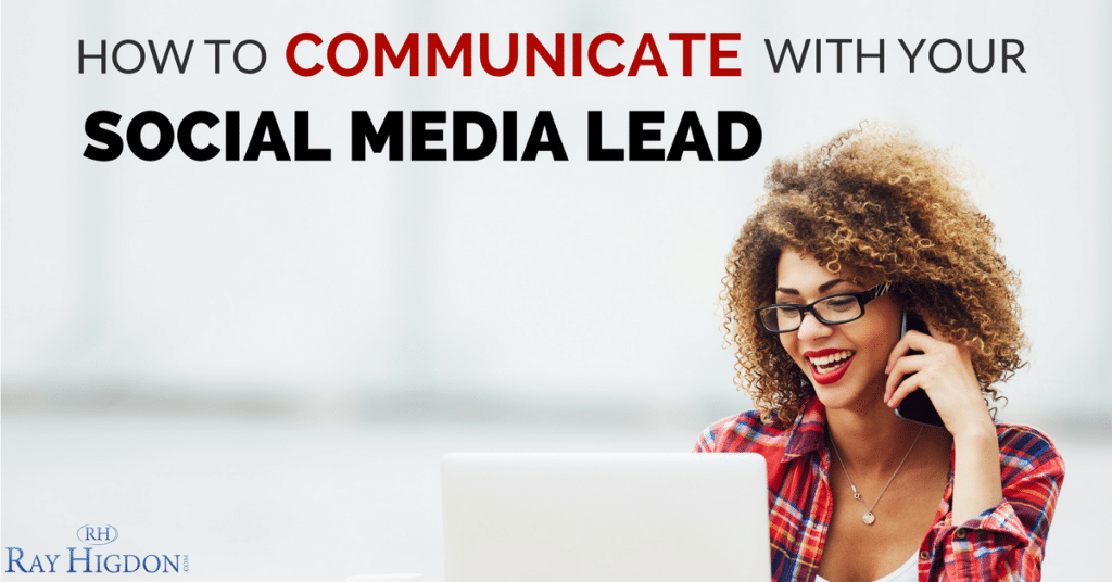 How To Communicate With Your Social Media Lead