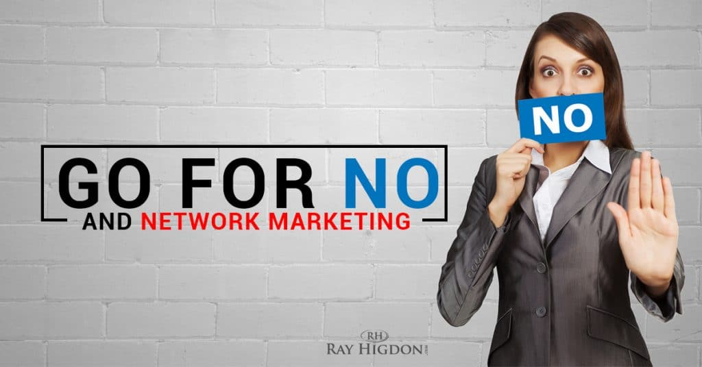 Network Marketing Recruiting And Go For No