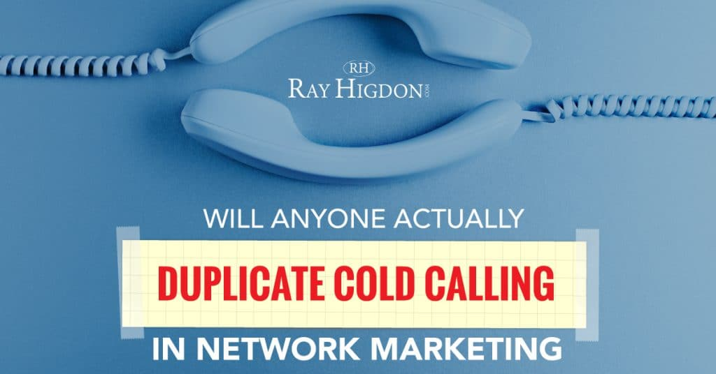 cold calling network marketing