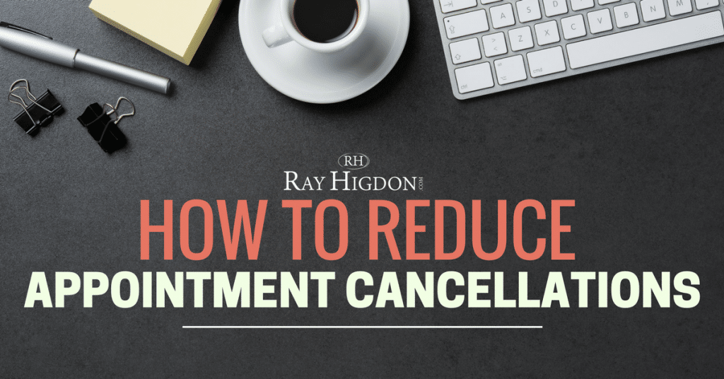 appointment cancellations in network marketing