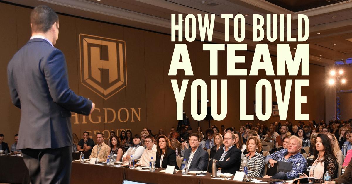 build a network marketing team