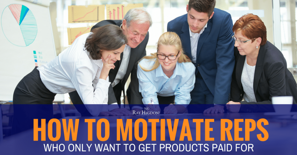 How To Motivate Network Marketing Reps Who Only Want To Get Products Paid For