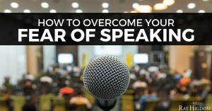 How to Overcome Your Fear Of Speaking On Stages And To Network Marketing Leaders