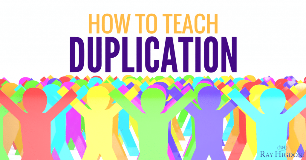Network Marketing Tips: Teaching Duplication To Your Team