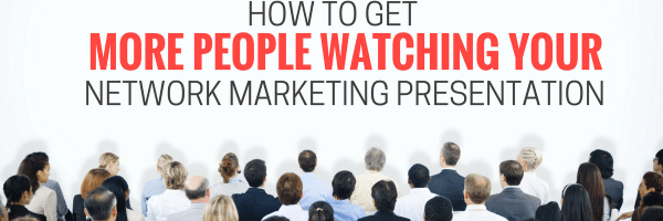 network marketing presentation