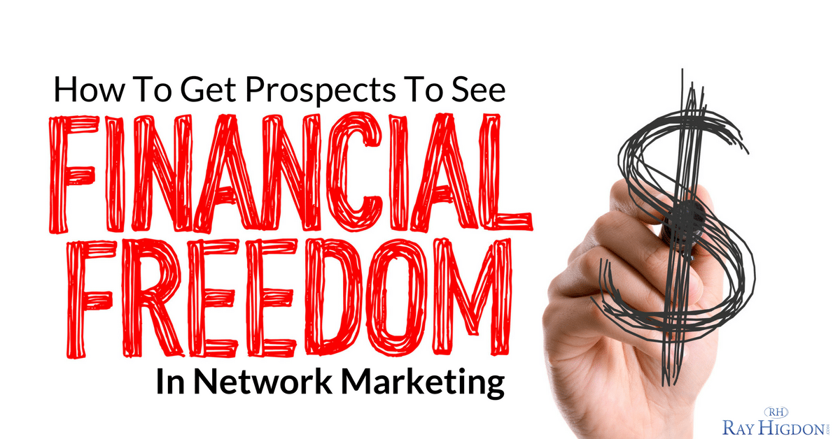 financial freedom in network marketing