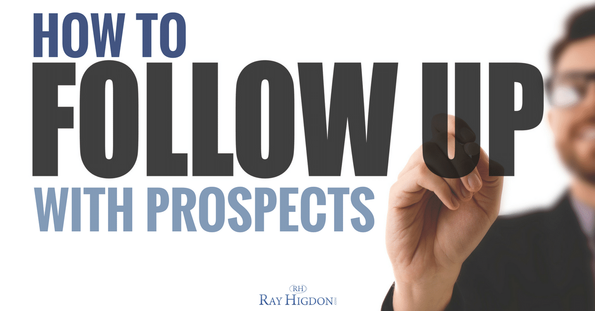 follow up network marketing-prospects