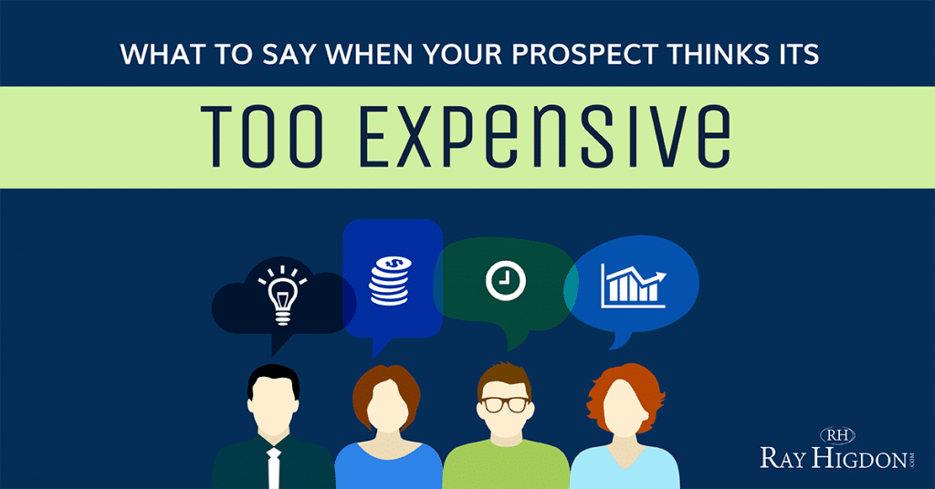 Network Marketing Objection: What To Say When Your Prospect Thinks It's Too Expensive