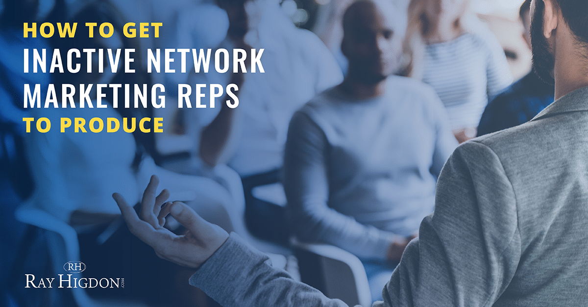 network marketing reps