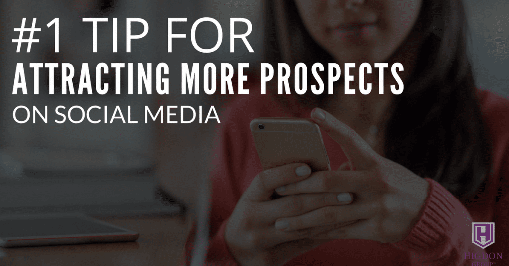 #1 Tip For Attracting More Network Marketing Prospects On Social Media