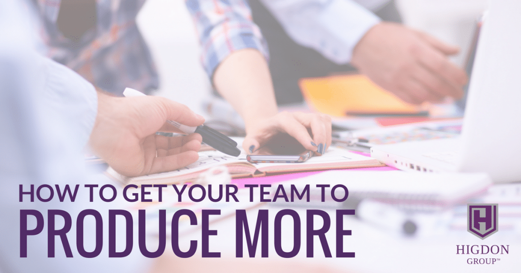 How To Get Your Network Marketing Team To Produce More