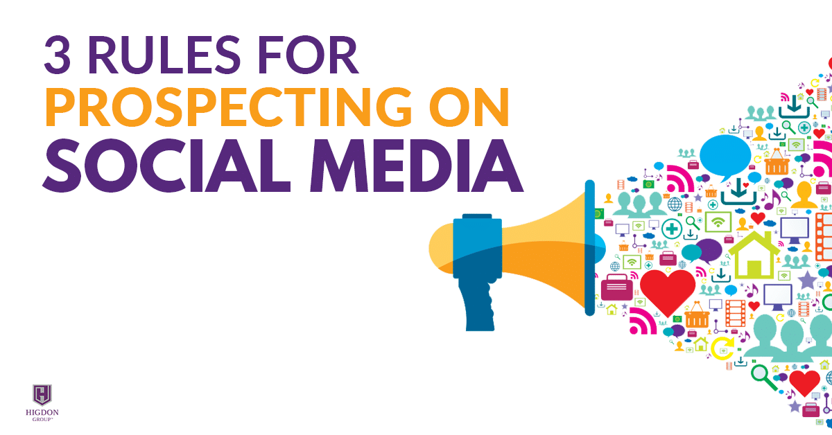prospecting on social media