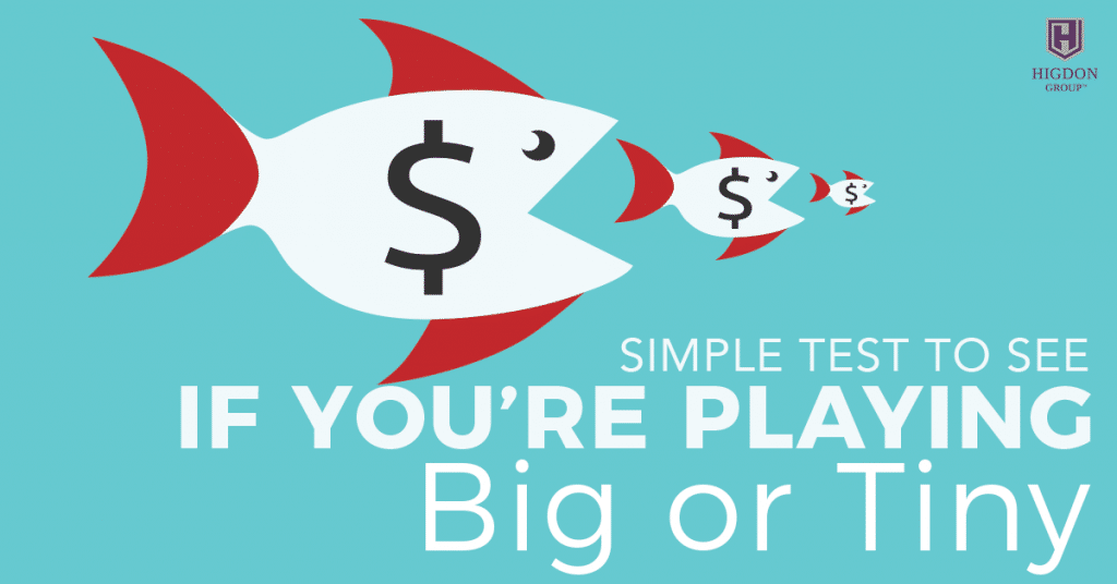 Simple Test to See If You're Playing Big Enough For Network Marketing