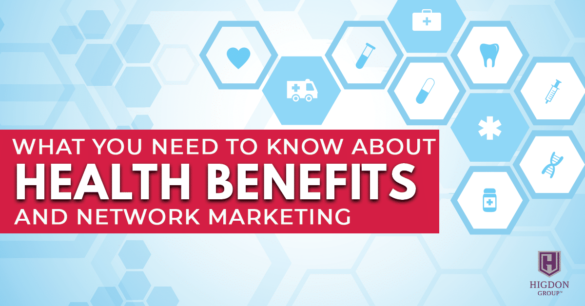 health benefits and network marketing