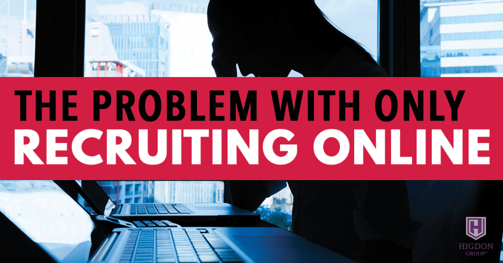 The Problem With Only Promoting Online MLM Recruiting
