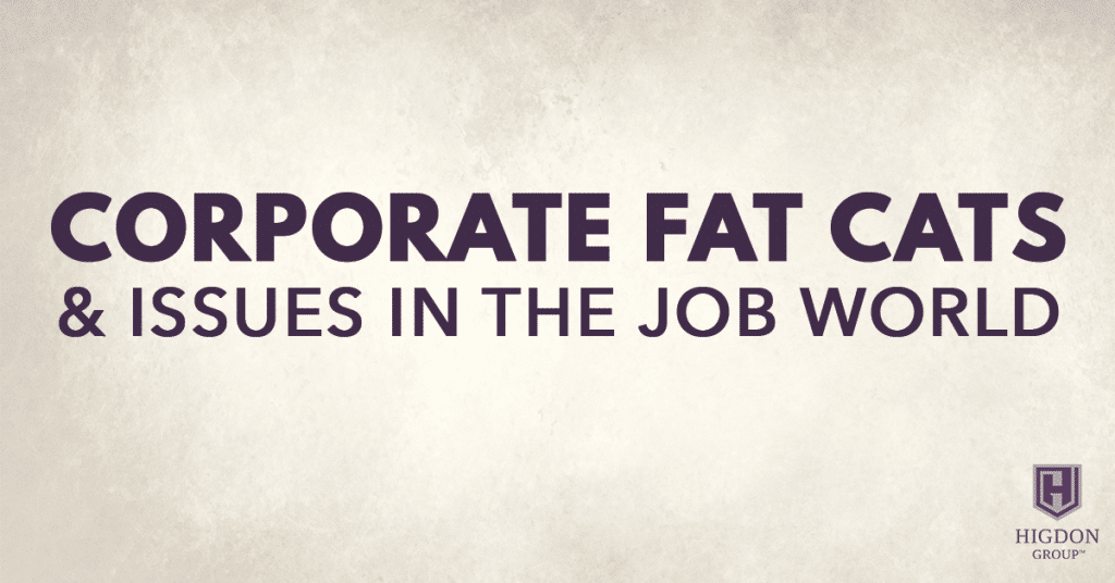 MLM Success: Corporate Fat Cats & Issues In The Job World