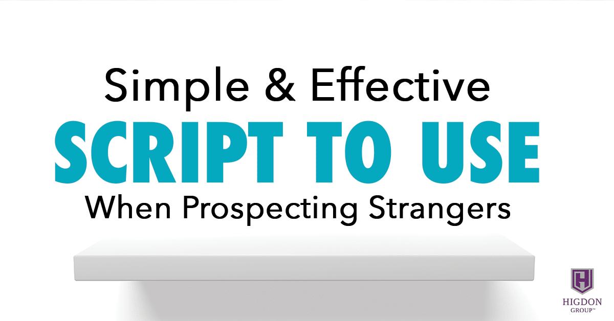 prospecting strangers