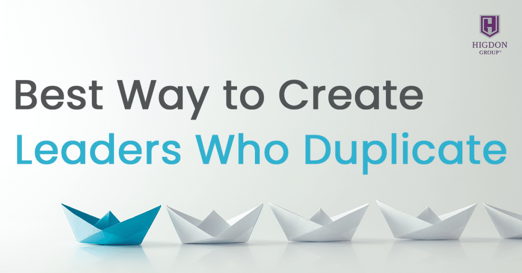 Best Way to Create MLM Leaders Who Duplicate