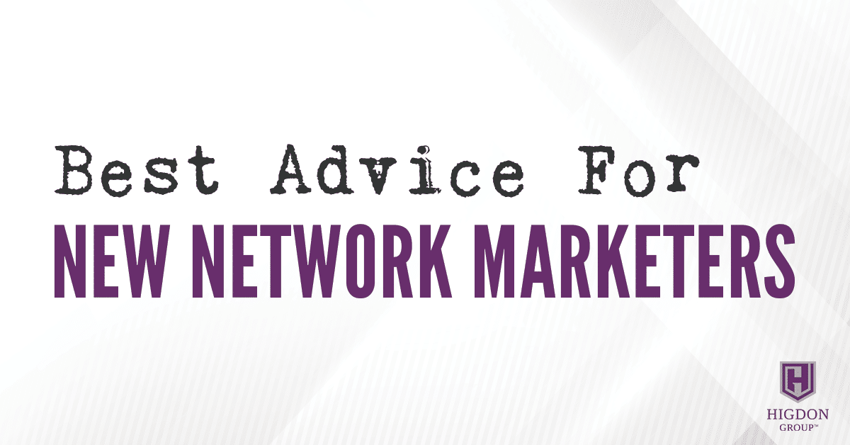 new network marketers