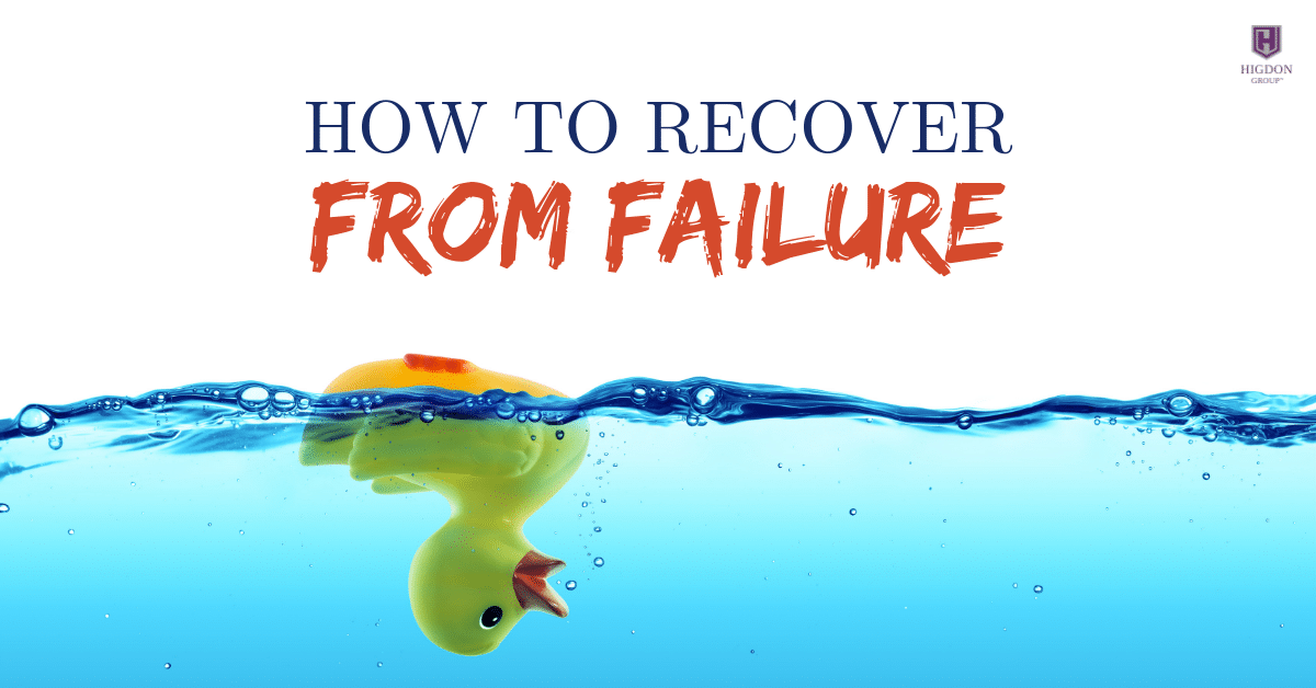 How To Recover From Failure