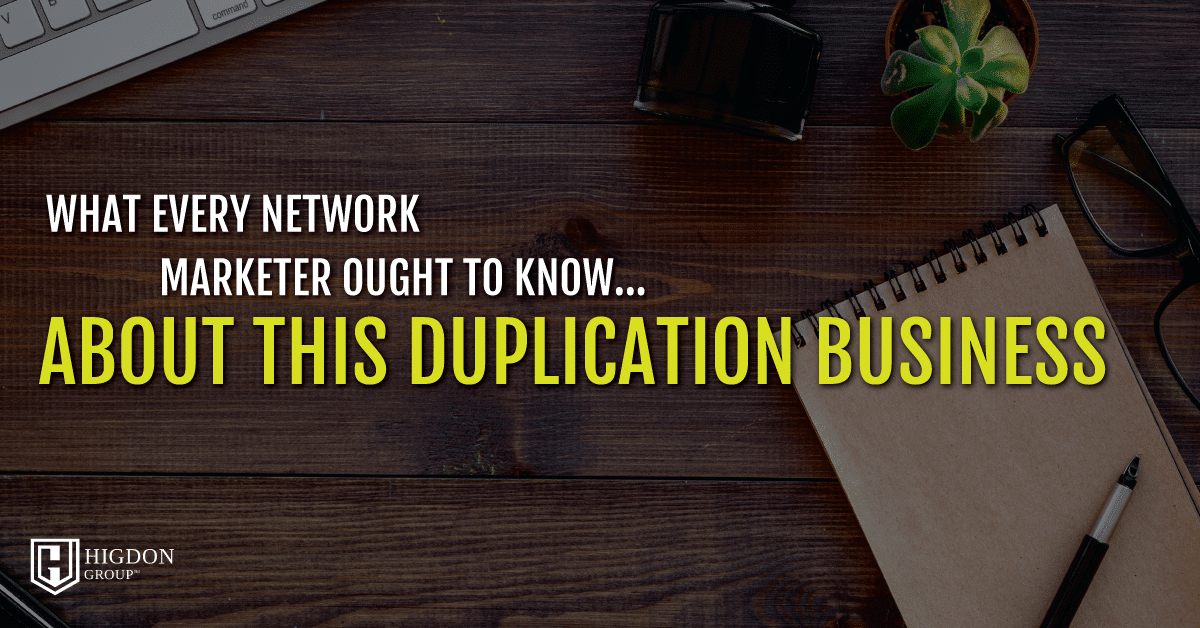 Duplication Business
